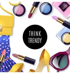 Women Fashion Concept vector image vector image