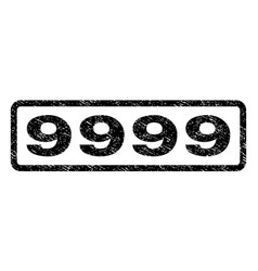 9999 watermark stamp vector image