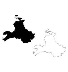 Balikesir map vector