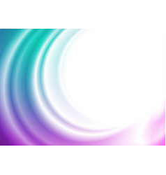 bright abstract wavy elegant background vector image
