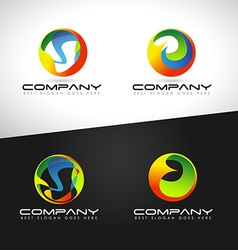 Corporate Abstract Sphere vector