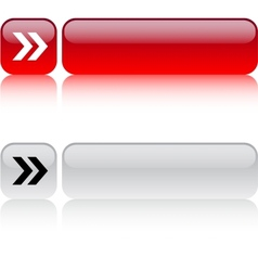 Forward arrow square button vector image