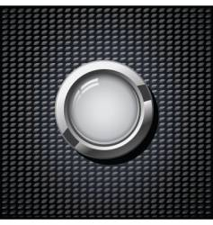 Grey button vector