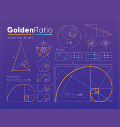 Set of golden ratio element vector