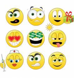 Smileys vector