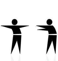 trashmen greeting vector image