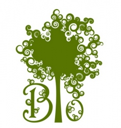 save forests symbol vector image vector image