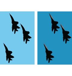 aircraft 2 vector image