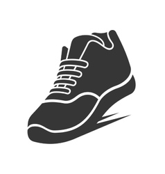 Running Shoe Icon vector image
