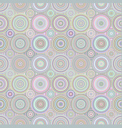 Abstract repeating concentric circle pattern vector