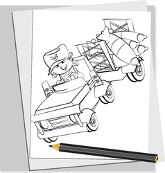 Battle Doodles 5 vector
