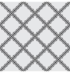 Black seamless pattern vector image