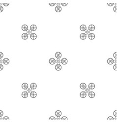 modern drone pattern seamless vector image