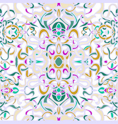 Seamless pattern with colorful abstract shape vector