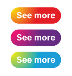 See more call to action button vector