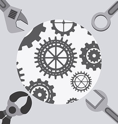 Tools icon vector