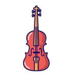 Violine icon cartoon style vector