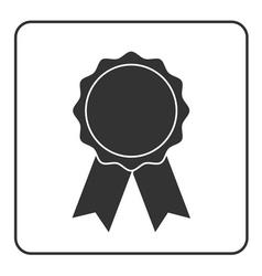 Award medal icon gray 2 vector image vector image