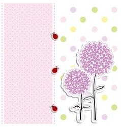 babies card design vector image vector image