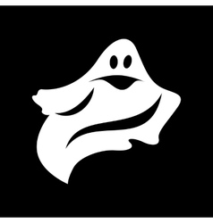 Ghost simple icon vector image
