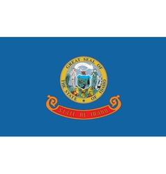 Idaho flag vector image vector image