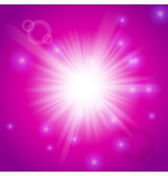 Abstract magic light pink background vector