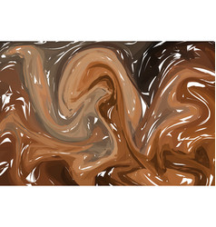 abstract stylized texture brown stone background vector image