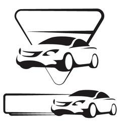 Auto silhouette vector