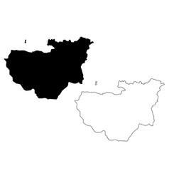 Bursa map vector