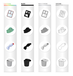 Dump ecology hygiene and other web icon in vector