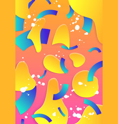Modern abstract poster cover vector