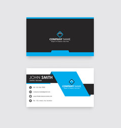 modern business card free vector image