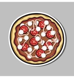 PizzaSticker5 vector