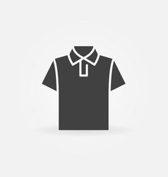 T-shirt icon tshirt symbol vector