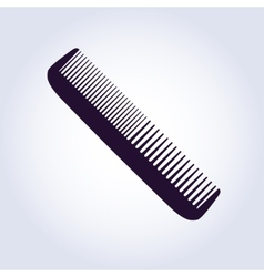 hairbrush vector image vector image