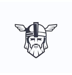 Odin Sport Team or League Logo Template vector image vector image