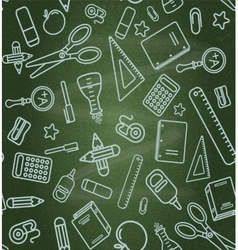 Seamless school background Layered vector image