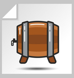 beer icons 8 vector image
