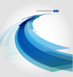 Abstract background element in blue and white vector