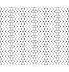 Black dotted veil lace pattern vector