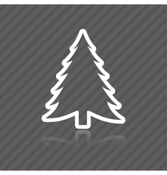 Fir tree vector