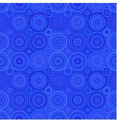 geometric concentric circle pattern background vector image