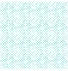 Geometrical turquoise abstract circle pattern vector