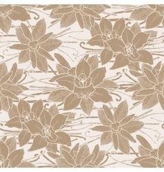Graphic vanilla pattern vector