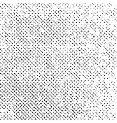 grunge texture on white background monochrome vector image