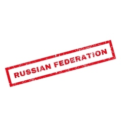Russian Federation Rubber Stamp vector