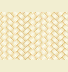 Straw weave background seamless pattern vector
