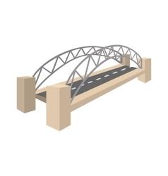 Sydney Harbour Bridge icon cartoon style vector image vector image
