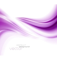 Beautiful Purple Satin Drapery Background vector image