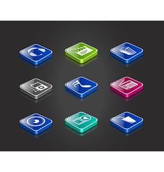 entertainment music icon vector image